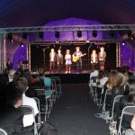 photo of band performing as part of north lincolnshire arts project at church square