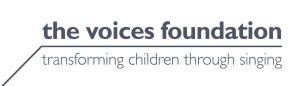 logo for the voices foundation