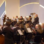 photo of full orchestra performing at the house in scunthorpe