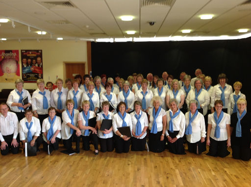Shower singers community choir