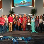 photo of performers at the house church in scunthorpe