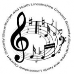 logo for the scunthorpe and north lincolnshire concert society