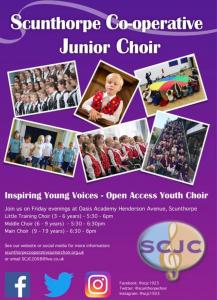Scunthorpe Co-operative Choir Rehearsal @ Oasis Academy
