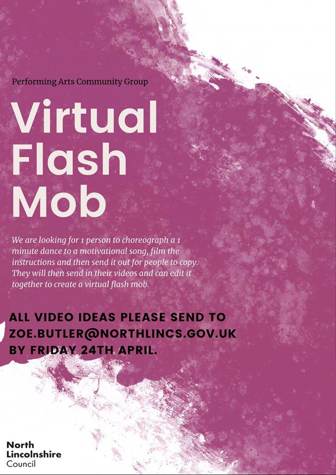 Virtual Flash Mob